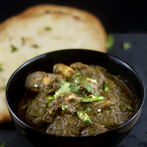 palak-with-chicken